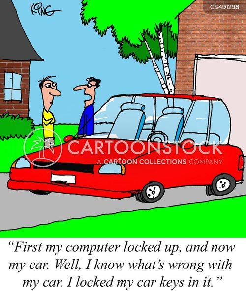 lock-smiths cartoon