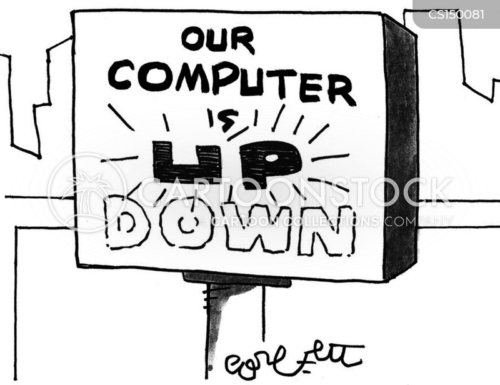 computer repair cartoon