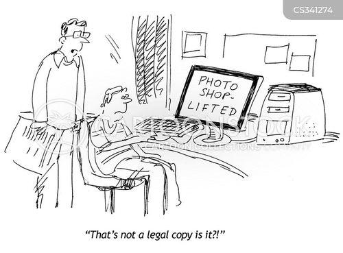 photoshop cartoon