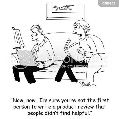 shopping online cartoon