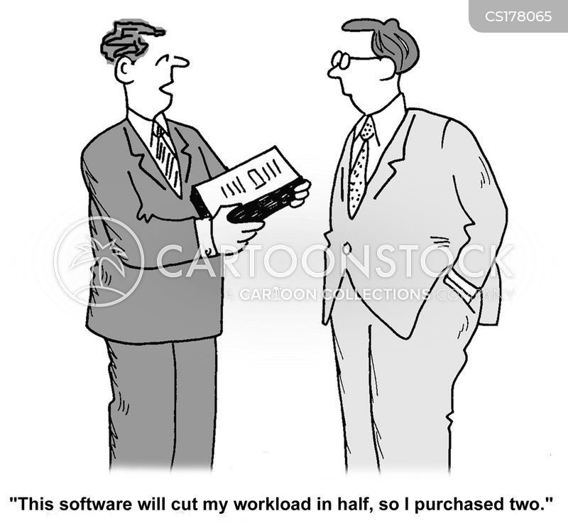 Software Cartoon, Software Cartoons, Software Bild, Software Bilder, Software Karikatur, Software Karikaturen, Software Illustration, Software Illustrationen, Software Witzzeichnung, Software Witzzeichnungen