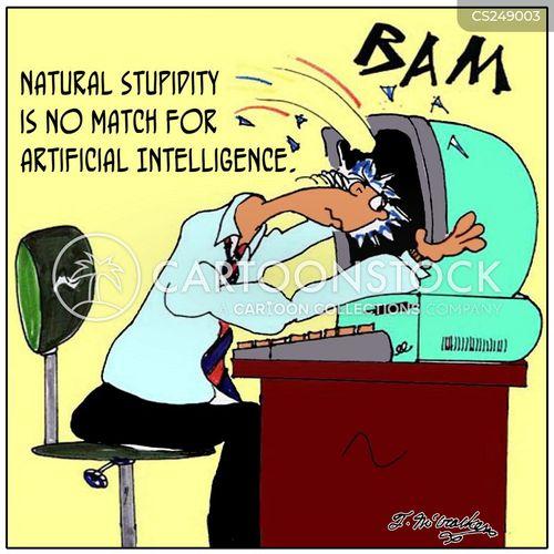 computer engineer cartoon