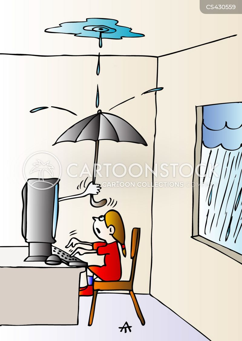 Leaky Roofs cartoons, Leaky Roofs cartoon, funny, Leaky Roofs picture, Leaky Roofs pictures, Leaky Roofs image, Leaky Roofs images, Leaky Roofs illustration, Leaky Roofs illustrations