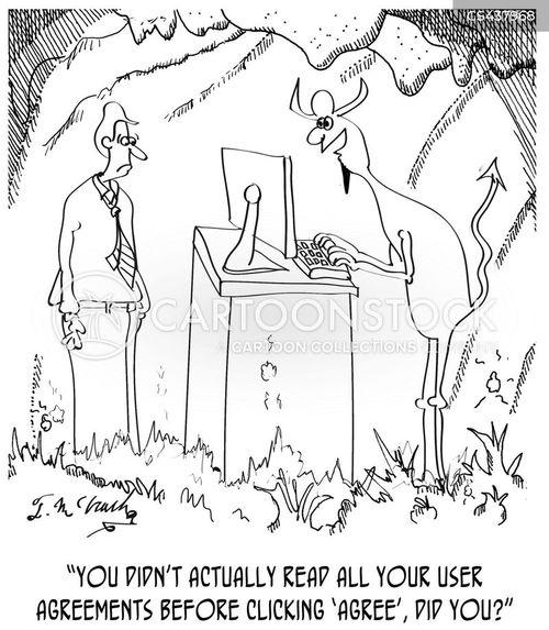 small-print cartoon