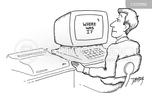 workstations cartoon