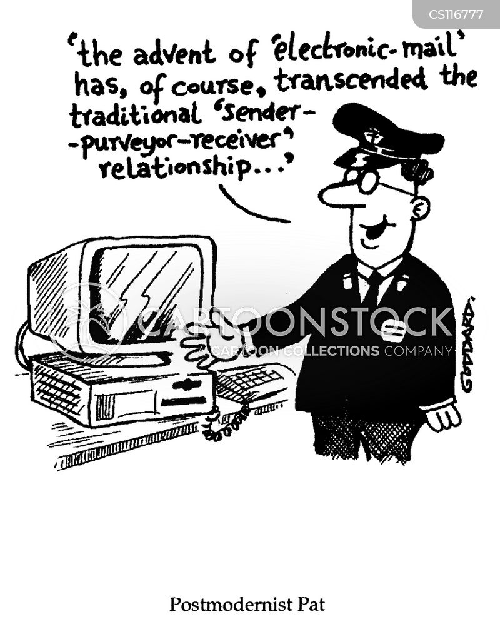 mail man cartoon