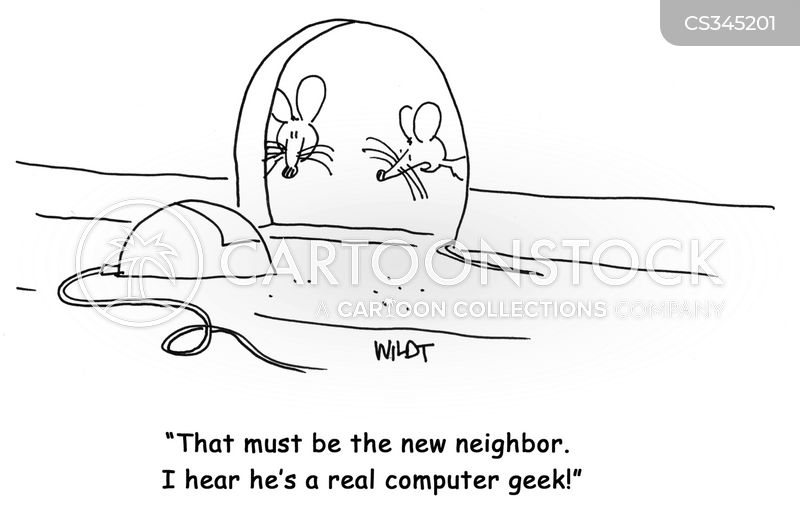 computer mice cartoon