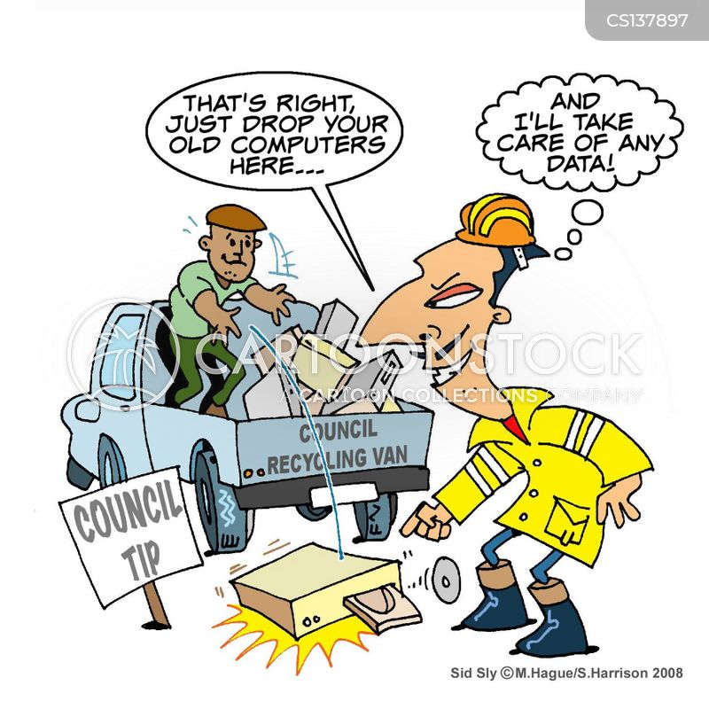 council workers cartoon