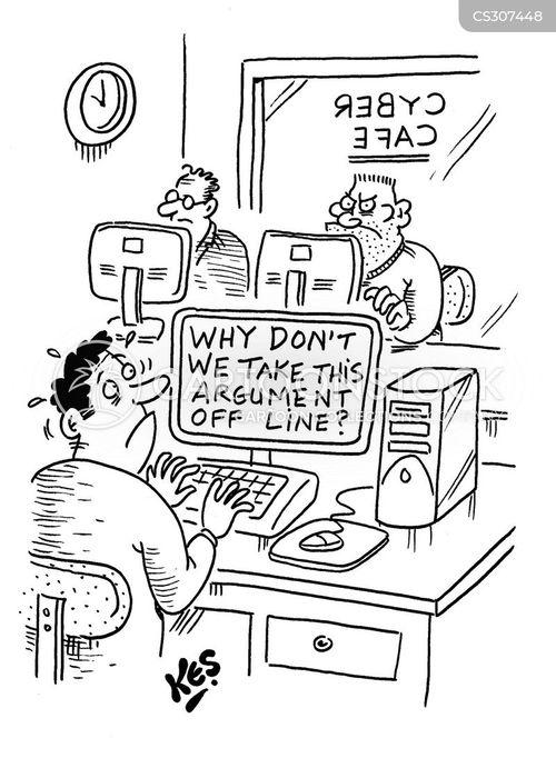 offline cartoon
