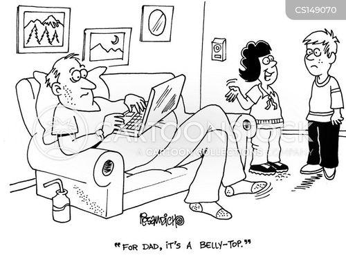 lap-top cartoon