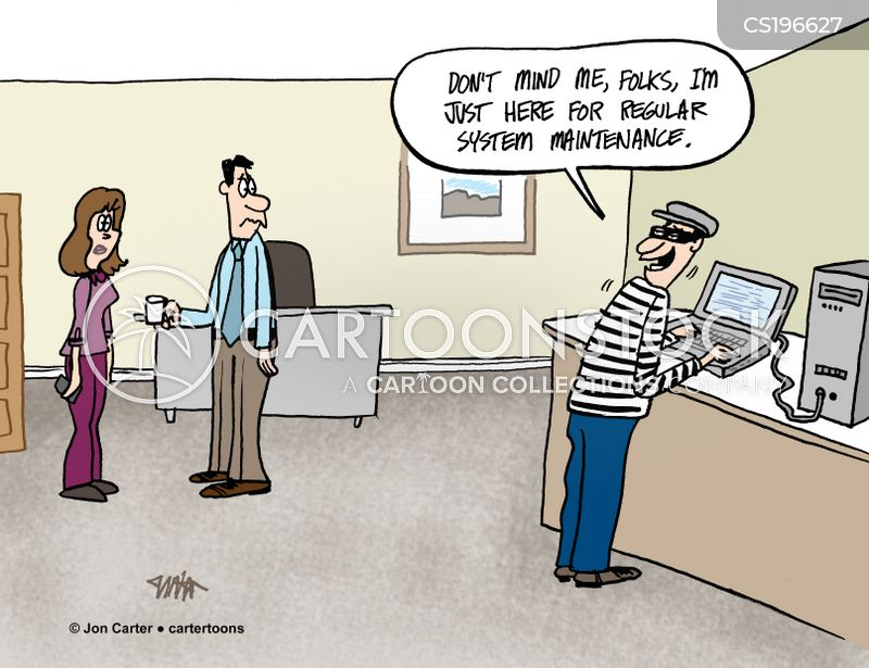 data professionals cartoon