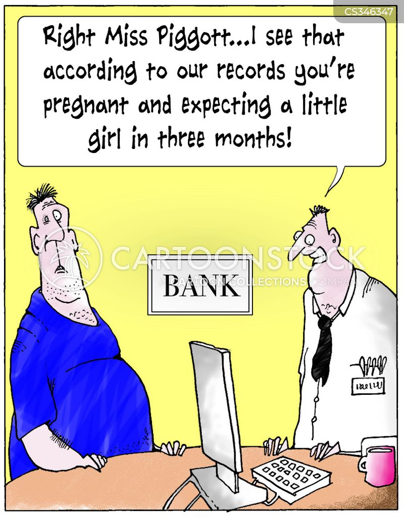 bank record cartoon