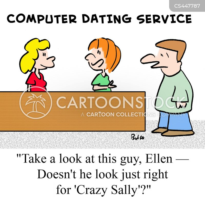 matching site cartoon