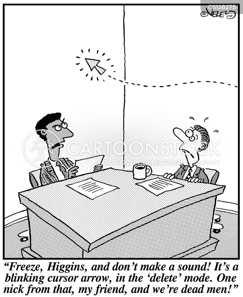 curson arrows cartoon