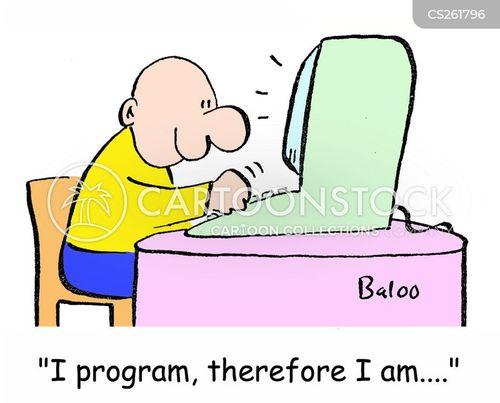 software engineer cartoon