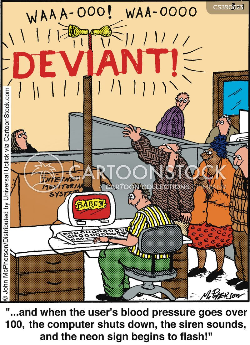 deviant cartoon