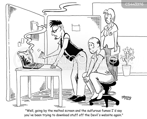 beelzebub cartoon