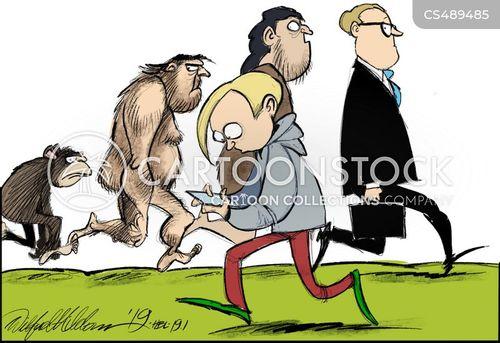 devolved cartoon