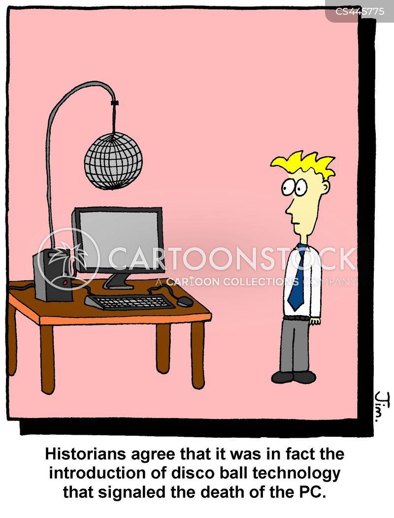 personal computers cartoon