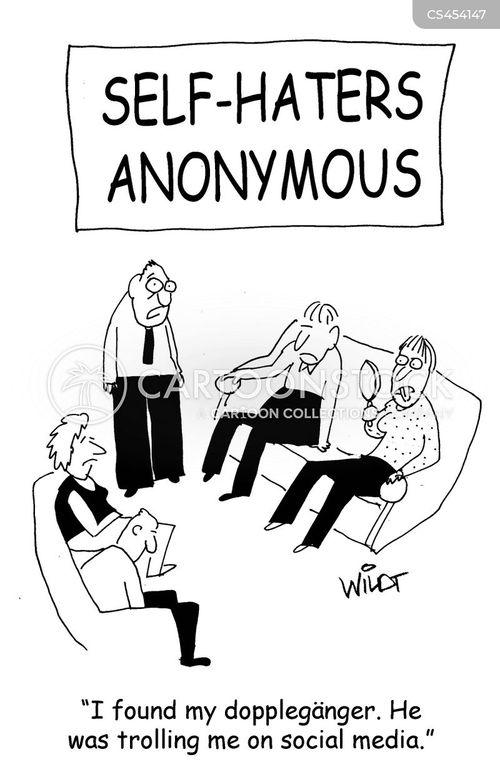 dopplegangers cartoon