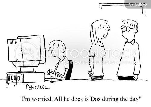 dos cartoon