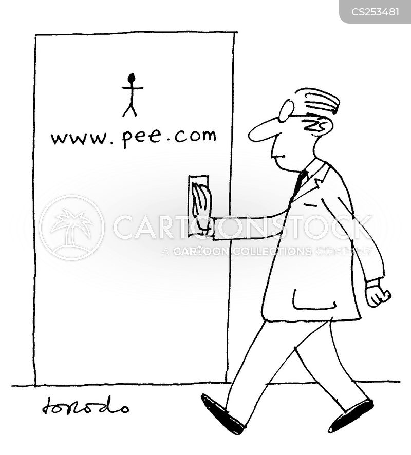 public washrooms cartoon