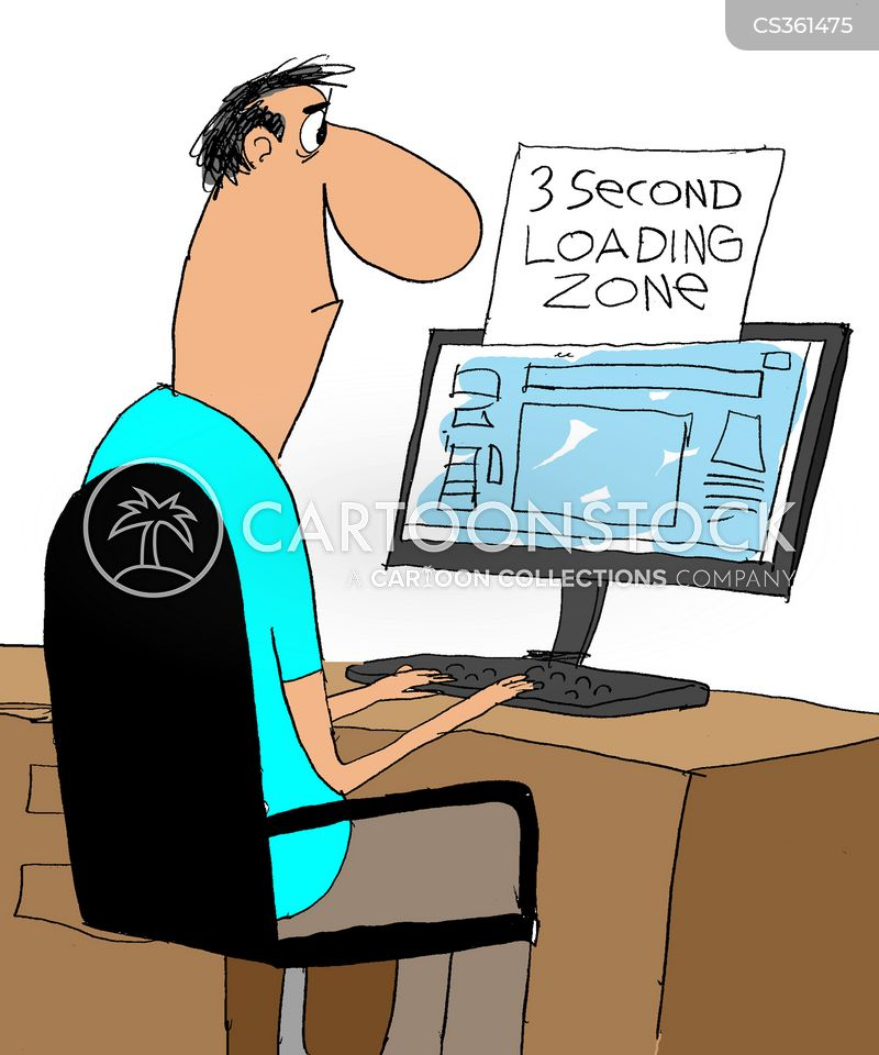 loading cartoon