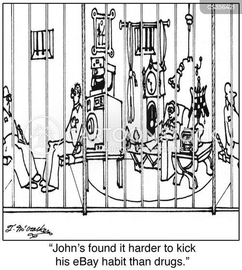 drug habit cartoon