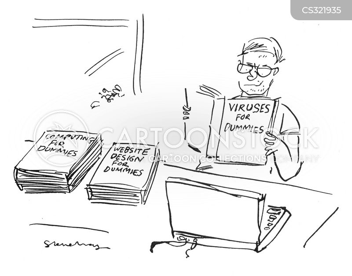 website design cartoon