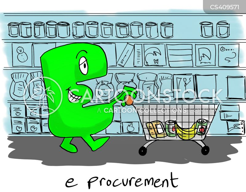 e-procurement cartoon