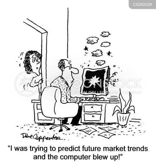 day traders cartoon