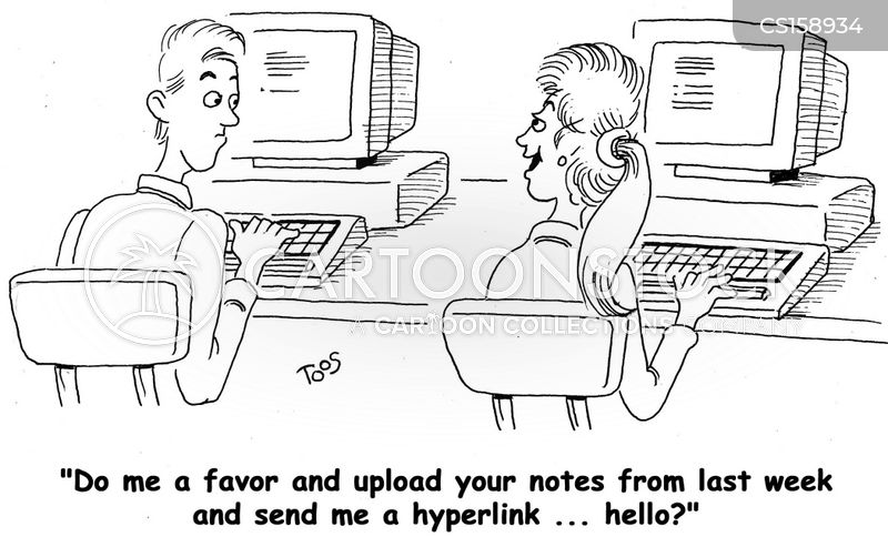 hyperlinks cartoon