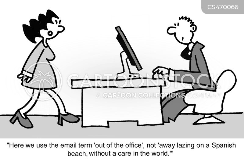 automated responses cartoon