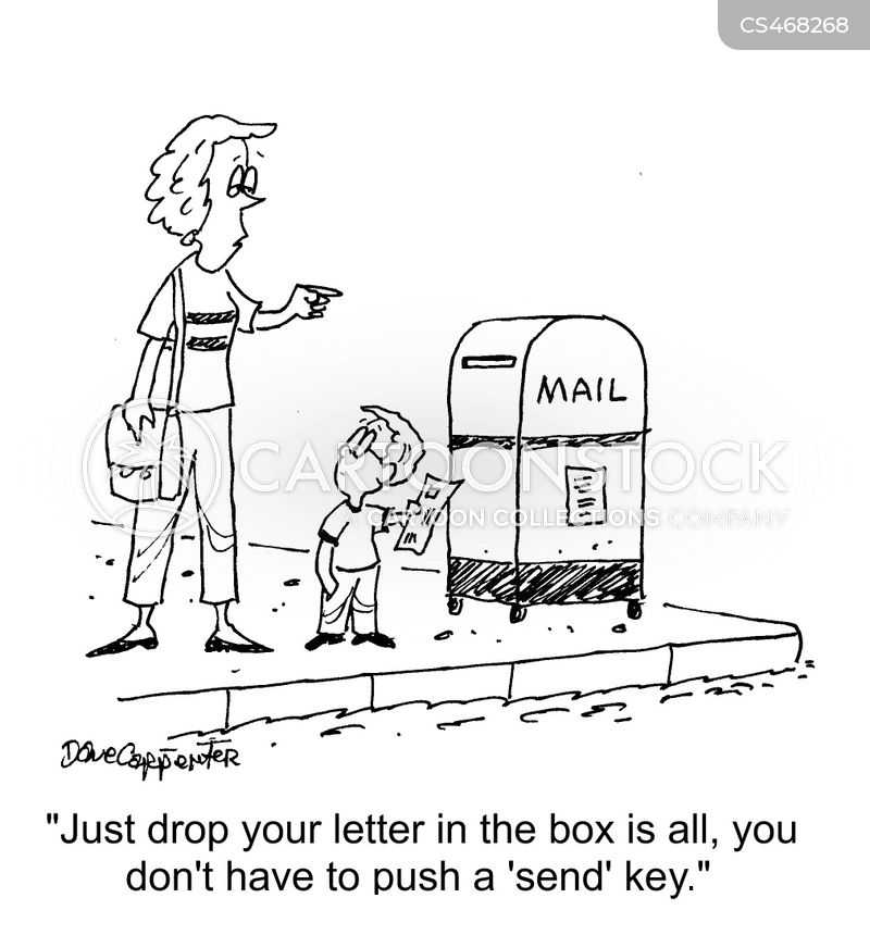 postage stamps cartoon