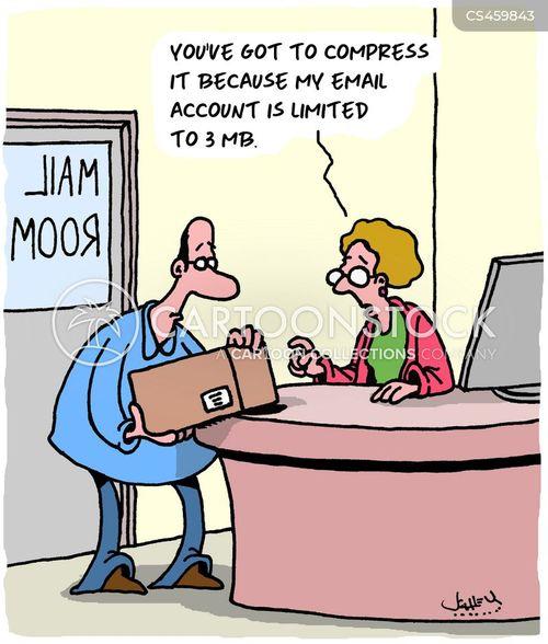 mailrooms cartoon