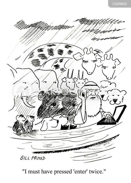 duplicate cartoon