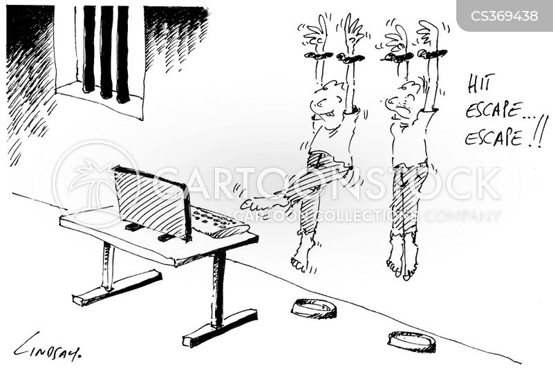 escape keys cartoon