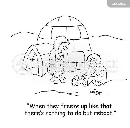 rebooting cartoon