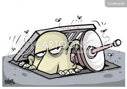 phone tap cartoon