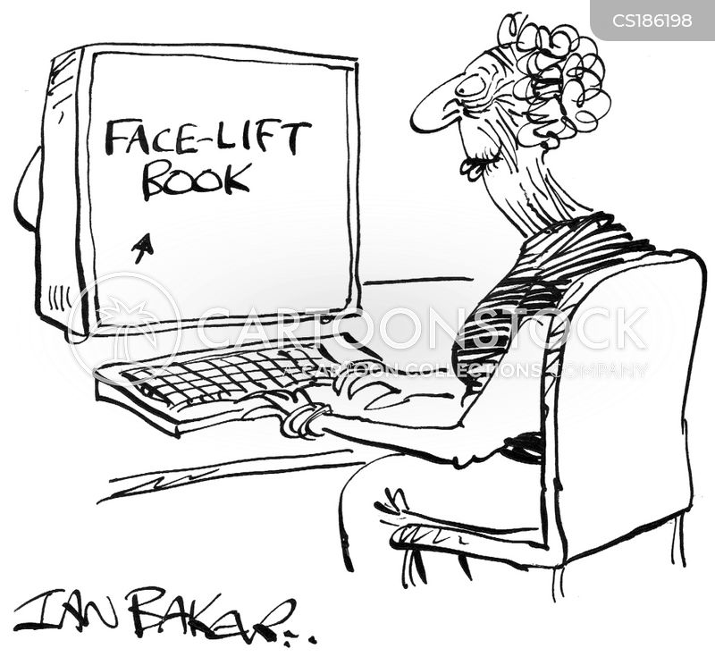 facelift cartoon