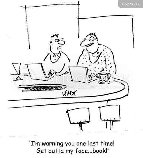 last warning cartoon