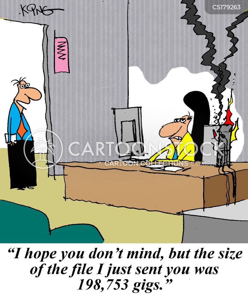 Funny Email: Pc Crash Cartoons And Comics