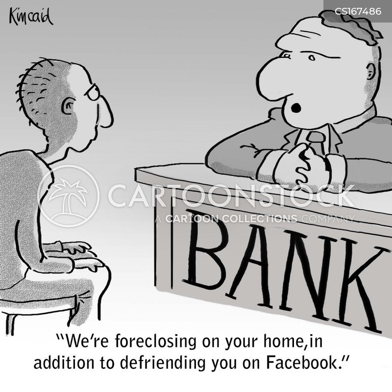 foreclose cartoon