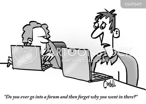 baffled cartoon