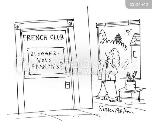 french class cartoon