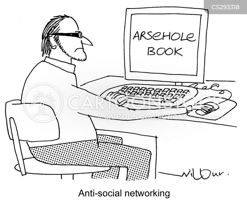 online friends cartoon