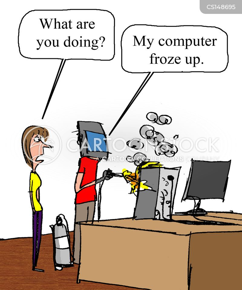 frozen computer cartoons and comics funny pictures from