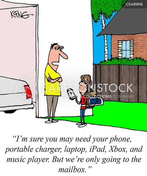 technology dependencies cartoon