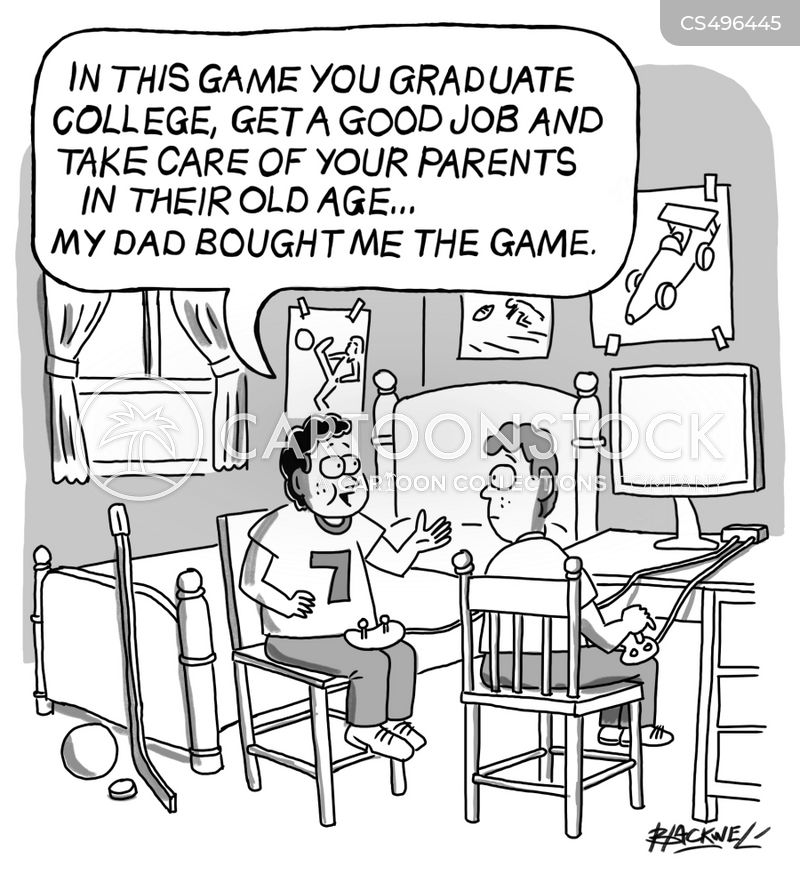 role playing game cartoon