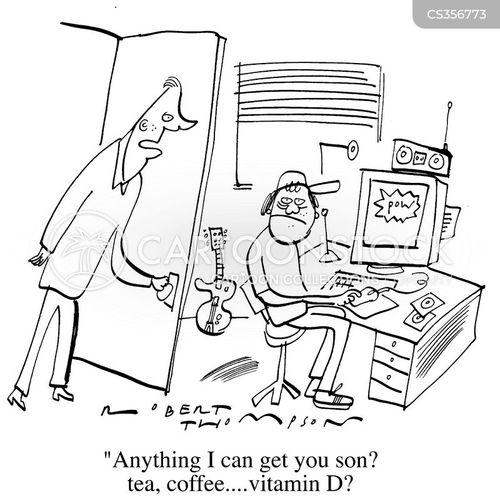shut-in cartoon
